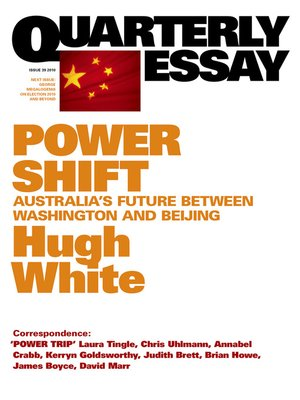 quarterly essay audiobook In his latest quarterly essay, man made world, andrew charlton meshes these two issues into a compelling manuscript that explains the relationship between economic disparity and global warming personal links.