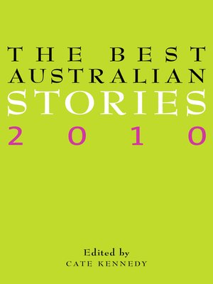 cover image of The Best Australian Stories 2010