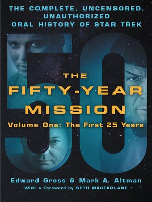 cover image of The Fifty-Year Mission, Volume 1