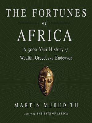 cover image of The Fortunes of Africa
