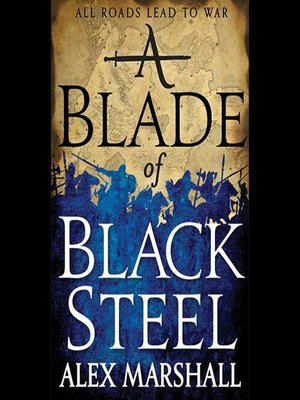 cover image of A Blade of Black Steel
