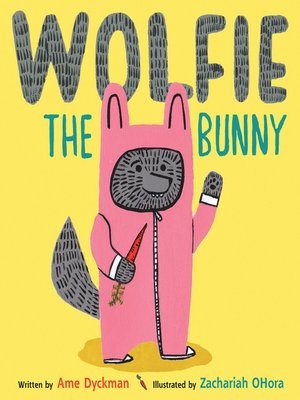 cover image of Wolfie the Bunny