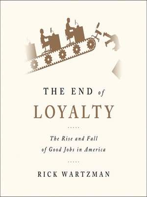 cover image of The End of Loyalty