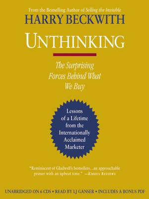 cover image of Unthinking