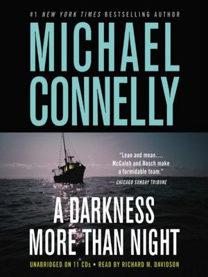 cover image of A Darkness More Than Night--Booktrack Edition