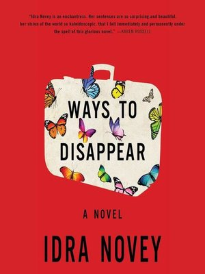 cover image of Ways to Disappear