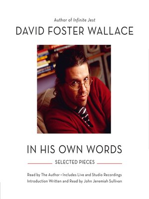 cover image of David Foster Wallace--In His Own Words