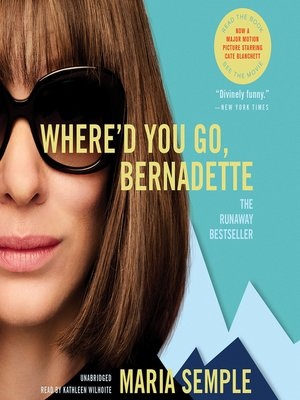 cover image of Where'd You Go, Bernadette