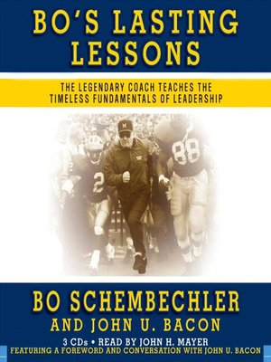 cover image of Bo's Lasting Lessons