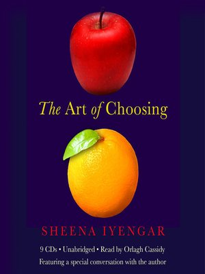 cover image of The Art of Choosing