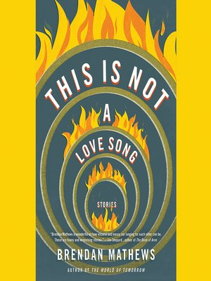 cover image of This Is Not a Love Song