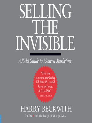 cover image of Selling the Invisible