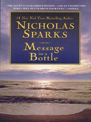 cover image of Message in a Bottle