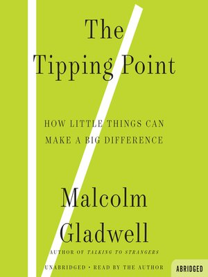 Malcolm gladwell overdrive rakuten overdrive ebooks audiobooks the tipping point malcolm gladwell author fandeluxe Gallery