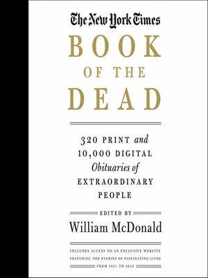 cover image of The New York Times Book of the Dead