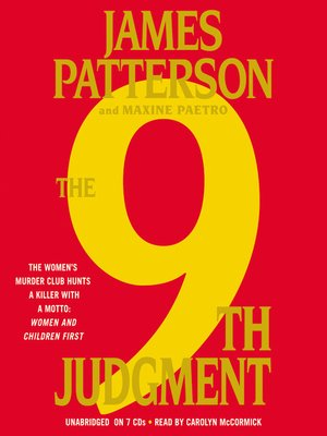 cover image of The 9th Judgment