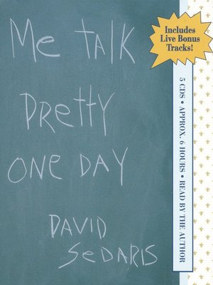 cover image of Me Talk Pretty One Day