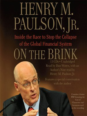 cover image of On the Brink