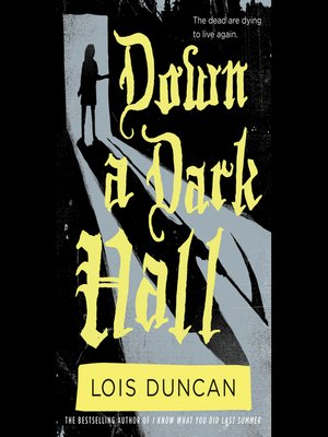 cover image of Down a Dark Hall