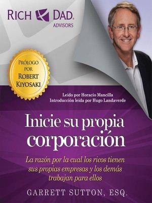 cover image of Inicie su propia corporación