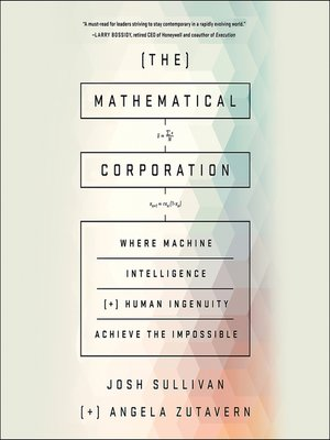 cover image of The Mathematical Corporation