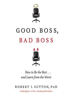 cover image of Good Boss, Bad Boss