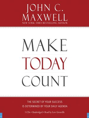 cover image of Make Today Count