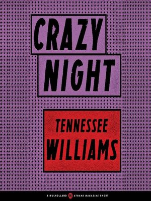 cover image of Crazy Night