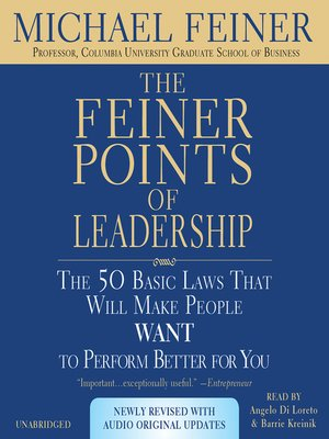 cover image of The Feiner Points of Leadership