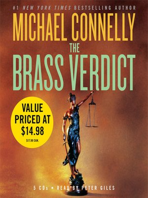 cover image of The Brass Verdict
