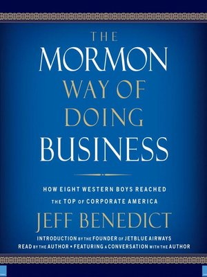 cover image of The Mormon Way of Doing Business