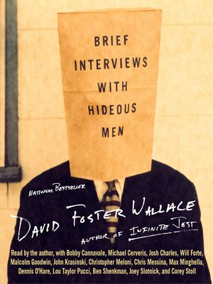 cover image of Brief Interviews With Hideous Men