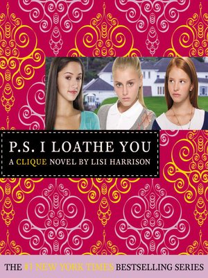 cover image of P. S. I Loathe You