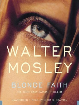 cover image of Blonde Faith--Booktrack Edition
