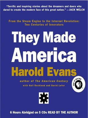 cover image of They Made America