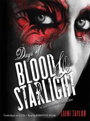 cover image of Days of Blood & Starlight