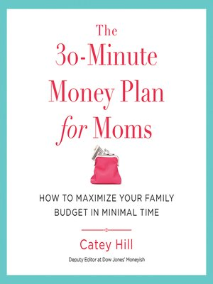 cover image of The 30-Minute Money Plan for Moms