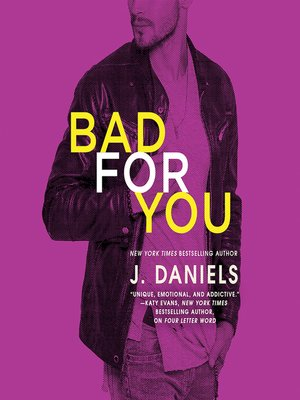 cover image of Bad for You