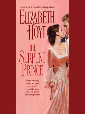 cover image of The Serpent Prince