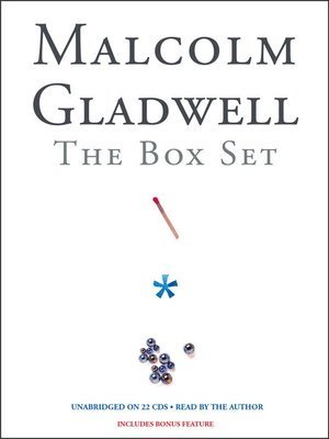 cover image of Malcolm Gladwell Box Set