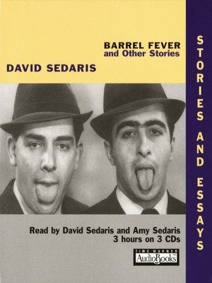 cover image of Barrel Fever and Other Stories