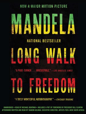 cover image of Long Walk to Freedom--The Autobiography of Nelson Mandela