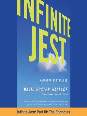 cover image of Infinite Jest, Part III