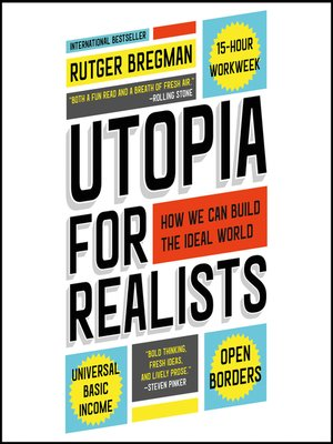 cover image of Utopia for Realists