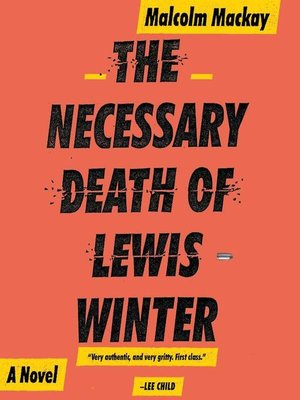 cover image of The Necessary Death of Lewis Winter