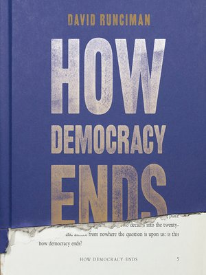 cover image of How Democracy Ends