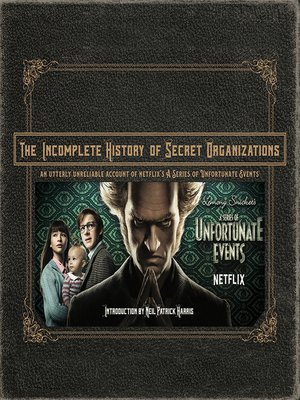cover image of The Incomplete History of Secret Organizations