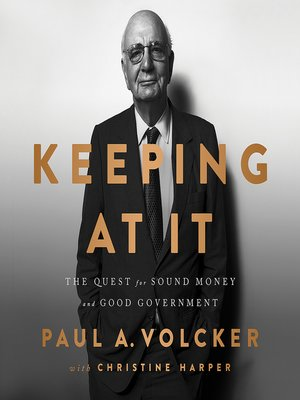 cover image of Keeping At It