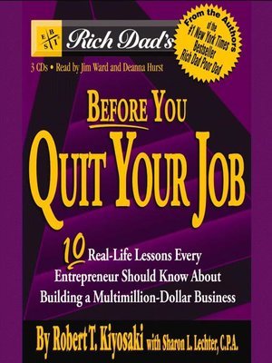 cover image of Before You Quit Your Job