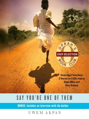 cover image of Say You're One of Them